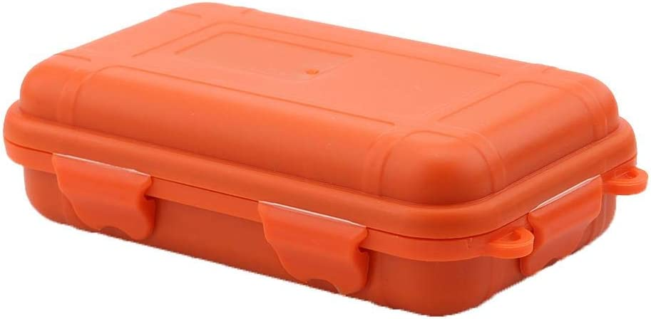 Tbest Survival Case,2 Colors 2 Sizes Outdoor Survival Shockproof Waterproof Storage Box Sealed Container Case