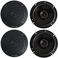 Pioneer TS-G1645R 2-Way 6-1/2 500 Watt Car Audio Coaxial Speaker (2 Pairs) 6.5