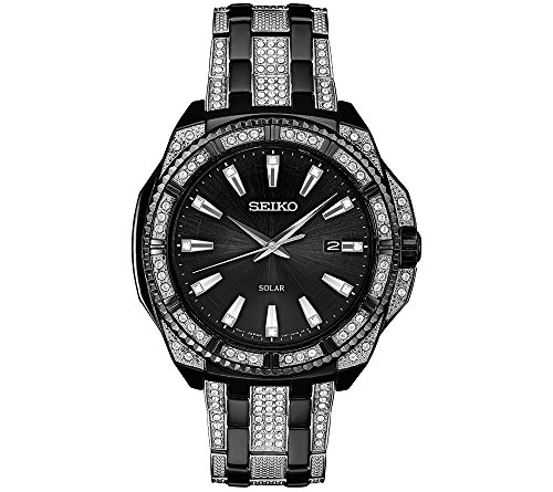 Seiko-Mens-Solar-Crystal-Watch