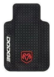 Dodge Ram Logo Trim-To-Fit Molded Front Floor Mats - Set of 2