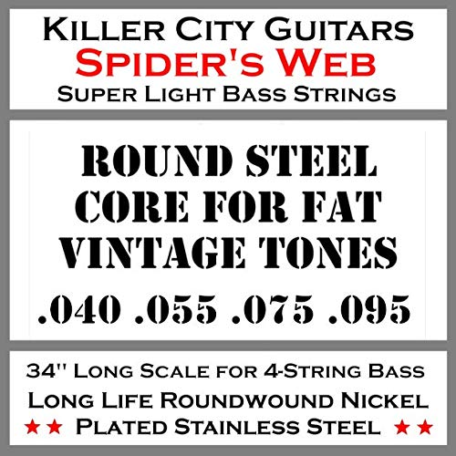(End of April Sale Price) Spider's Web Super Light Bass Guitar Strings for 4 String - Bass For Cheap Sale Guitars