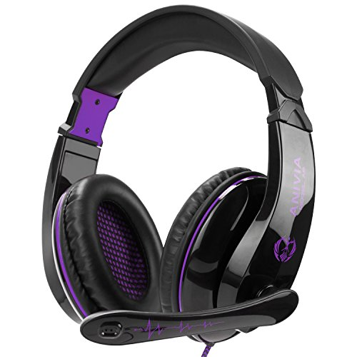518DazNvHfL - 3.5mm Jack Wired Stereo Gaming Headset Headphone with Microphone for New Xbox One PS4/PlayStation 4 Laptop Mac Computer