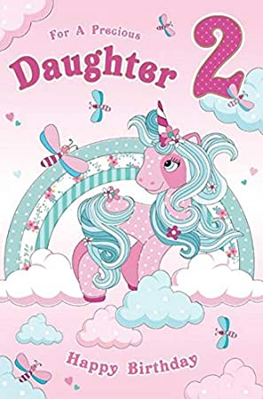 Daughter 2nd Birthday