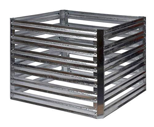 Gartenpirat Compostador (93 x 93 x 70 cm, Metal galvanizado ...