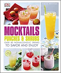 """What to drink when you're """"not drinking""""? Mocktails, Punches, and Shrubs offers 101 unique, delicious non-alcoholic drink options for everyday and any occasion.       Michelin-starred celebrity chef Vikas Khanna has created a dazzling ..."""