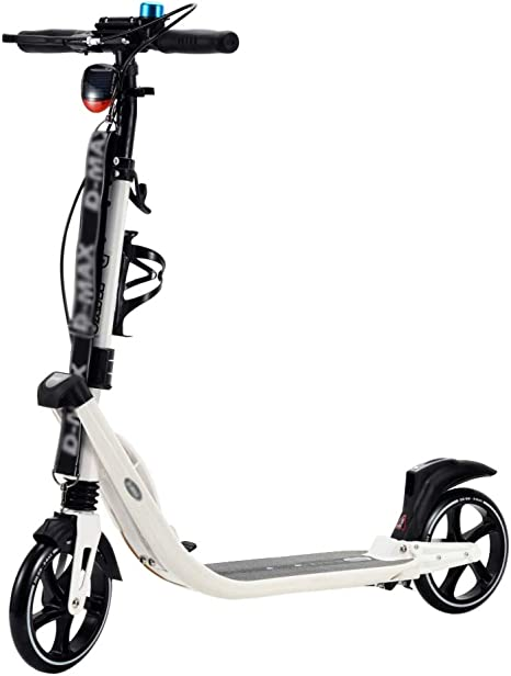 Patinetes de tres ruedas Scooter De Kick para Adultos/Niños Portátil, Bicicleta con Pedales Ajustables En Altura con Barra En T: Amazon.es: Deportes y aire libre
