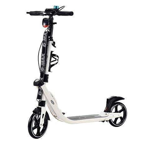 Patinetes de tres ruedas Scooter De Kick para Adultos/Niños Portátil, Bicicleta con Pedales