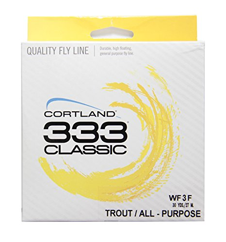 Cortland 333 Classic Trout/All Purpose Fly Line WF3F Cortland Trout Rod