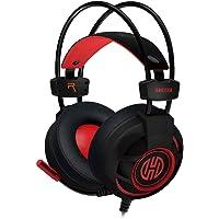 Headset Gamer P2 c/Microfone Cabo 2,40m Vermelho Hoopson