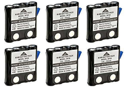 Uniden BP 38 Replacement NiMH battery
