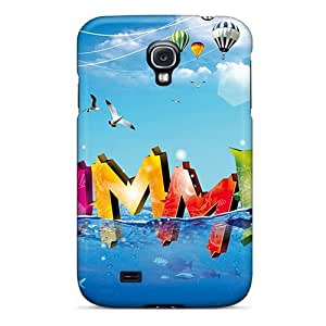 Excellent Design Abstract 3d Phone Cases For Galaxy S4 Premium Tpu Cases