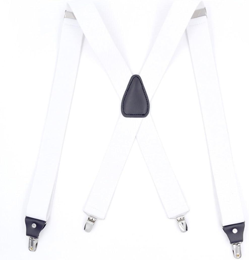 UMEE Pantalones De Tirantes El/ásticos Traje De Escena Ropa Para Hombre Mujer Unisex Longitud Ajustable