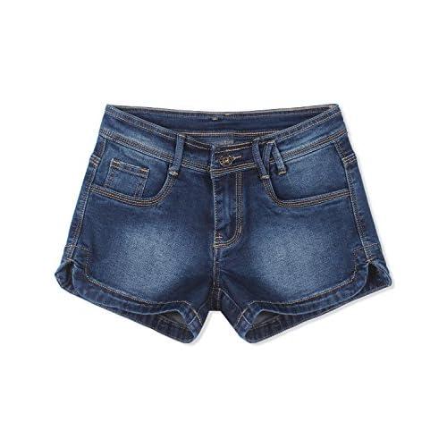 Demon hunter Women's Short Denim Jeans S60L2