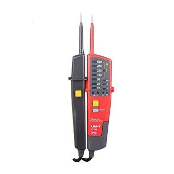 UNI-T UT18B detectores de tensión y de continuidad y voltaje auto Range V bolígrafo LED/LCD pantalla: Amazon.es: Bricolaje y herramientas