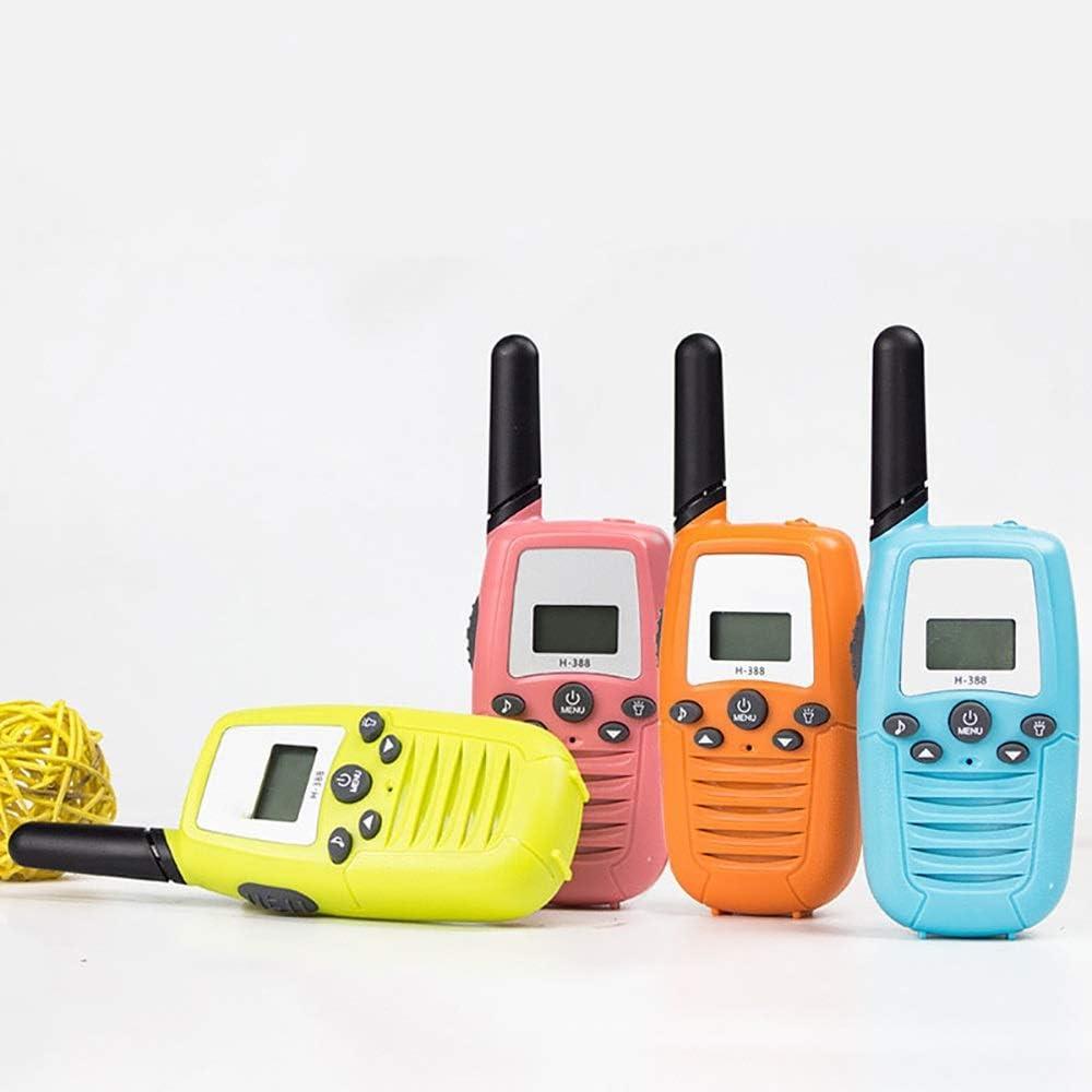 RYDZTMZ Bambini Walkie-Talkie, Wireless Communication 3km, interazione Genitore-Figlio (Color : F) D