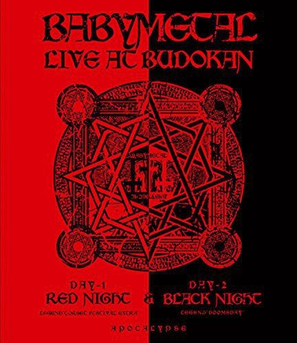 Blu-ray : Babymetal - Live at Budokan-Red Night & Black Night Apocalypse (Japan - Import)