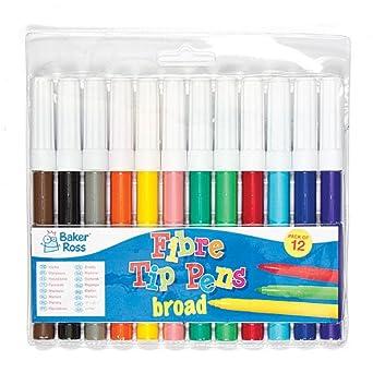Pack ahorro de rotuladores marcadores de punta gruesa que los niños pueden usar para dibujar y colorear diseños y manualidades (pack de 12).: Amazon.es: Industria, empresas y ciencia