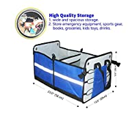 Best Quality Premium Collapsible Car Trunk Organizer or Storage By Friends Forever.Sturdy Construction,Heavy and Durable Duty solution.Great For SUV, Vans, Cars, Trucks,Minivan,Home.