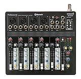 STARAUDIO SMX-6000B STARAUDIO Pro PA DJ Stage Club Party Karaoke 6 Channel Pure Mixer Mixing Console W/ USB Bluetooth MP3 Player