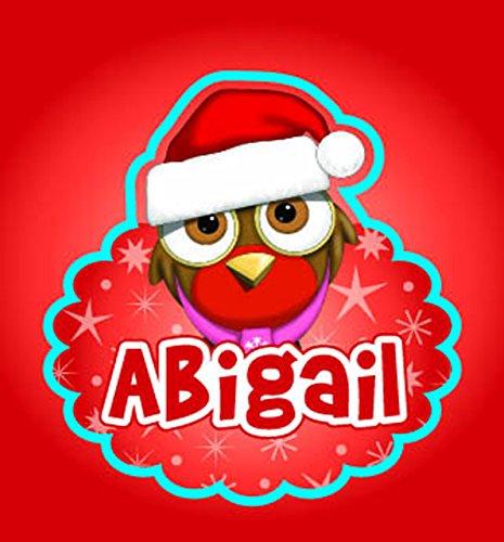 John Hinde Abigail My Name Flashing Badge