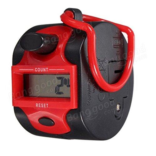 Mark8shop elettronico 5 cifre manuale da corsa, Contatore manuale, registrazione