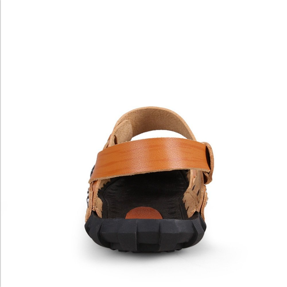Sandale Braun Männer Casual (Farbe Und Anti-Rutsch-Strand-Sandalen (24,0-27,0) cm (Farbe Casual : Braun, Größe : 39 1/3 EU) Braun be7da0