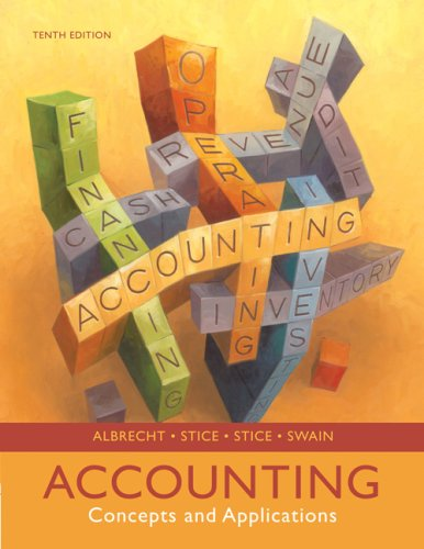 Accounting: Concepts and Applications (Available Titles CengageNOW)