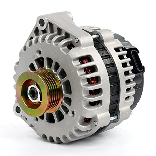 LActrical HIGH OUTPUT 250AMP ALTERNATOR FOR CHEVROLET CHEVY TAHOE GMC YUKON XL DENALI 1500 2500 3500 4.8 4.8L 294CI V8 2003 03 2004 04