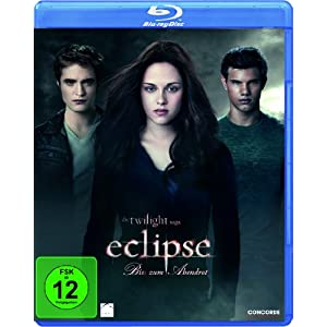 [Amazon] Twilight   Eclipse, New Moon & Bis(s) zum Morgengrauen als Blu ray für je 7,97€ inkl. Lieferung