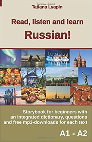 Amazon com: Read, listen and learn Russian!: Storybook for