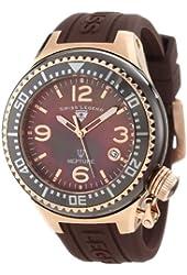 Swiss Legend Women's 11844-BRWRA Neptune Brown Mother-Of-Pearl Dial Watch