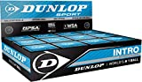 Dunlop Intro Squash Sports Entry Club Beginner Players Racquet Ball Box Of 12