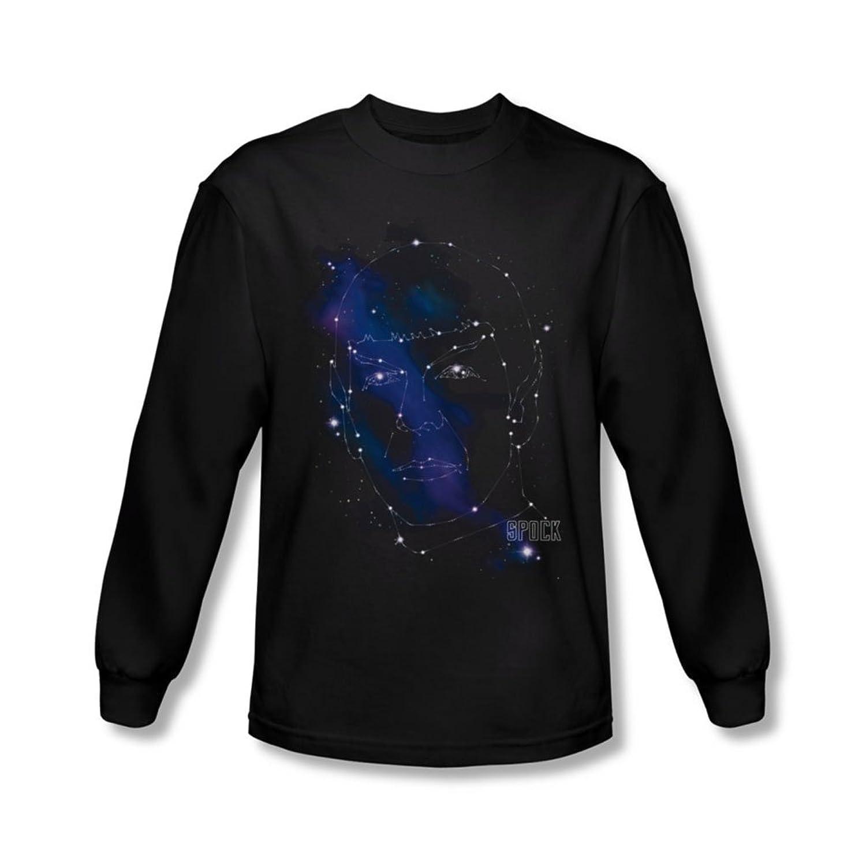 Star Trek - Mens Spock Constellations Longsleeve T-Shirt