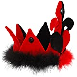 Queen of Hearts Crown Costume Accessory