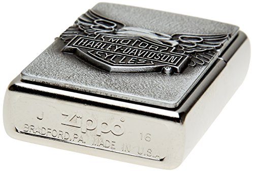 "Zippo ""Tommy Lee"" Lighter with Street Chrome Finish"