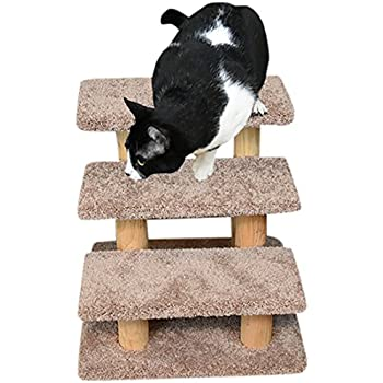Amazon Com Good Life 25 Quot 4 Steps Pet Stairs Carpeted