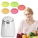 Facial Mask Maker - Face Mask Machine, Voice Broadcasting Full Automation DIY Natural Fruit Vegetable Facial Care Mask Maker Machine With FDA-certified (Mask Machine with Collagen)