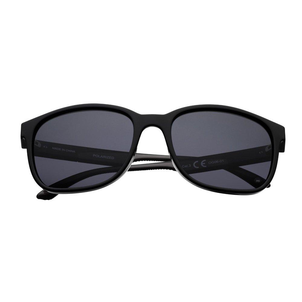 2b8a8e5fa Amazon.com : Zippo Black Polarized Teardrop Sunglasses : Sports & Outdoors