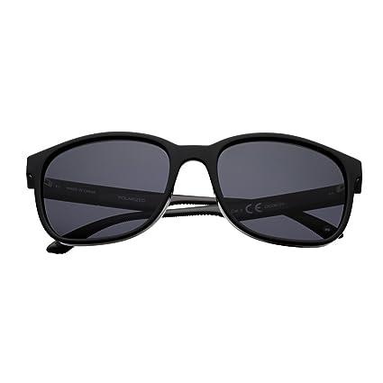 36c1a59af Amazon.com : Zippo Black Polarized Teardrop Sunglasses : Sports ...
