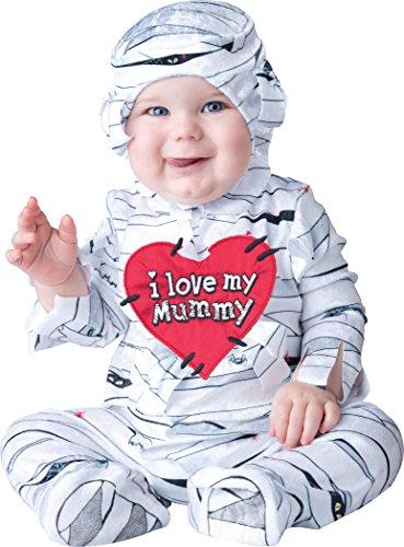 sc 1 st  Funtober & Babyu0027s I Love My Mummy Costume (InCharacter) - Funtober