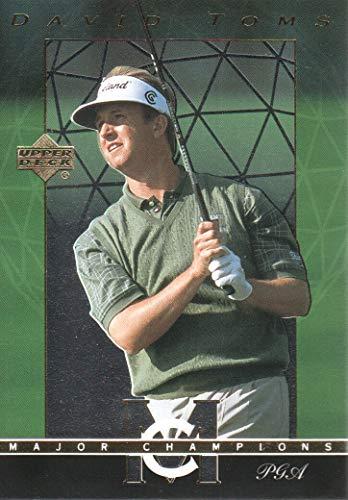 (2003 Upper Deck Golf Major Champions #37 David Toms 01 PGA)