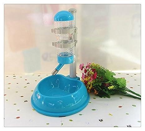 Mascotas perros gatos dispensador de agua pluma estilográfica Self comedero Bebedero Automático con Cuenco de la comida: Amazon.es: Productos para mascotas