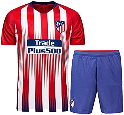Camiseta de fútbol, 2018-2019 (Home & Away) Trajes de camiseta de ...
