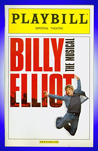 Billy Elliot The Musical, Broadway playbill + Gregory Jbara , David Alvarez