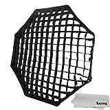 "Godox Portable Octagon 120cm / 47"" Only Grid Umbrella Photo Softbox Reflector for Flash Speedlight Only Grid"