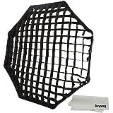 Godox Portable Octagon 120cm / 47 Only Grid Umbrella Photo Softbox Reflector for Flash Speedlight Only Grid