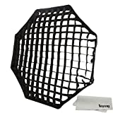 Godox Portable Octagon 80cm / 32'' Only Grid Umbrella Photo Softbox Reflector for Flash Speedlight Only Grid