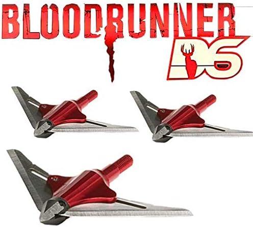 NAP New Archery Products bloodrunner 2 Blade Broadhead 100 Grain 3 Pack
