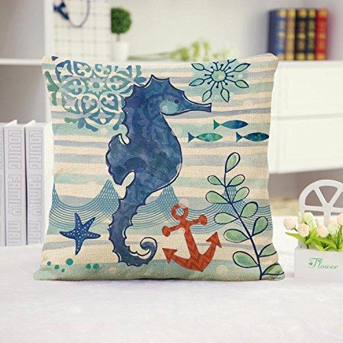Huacel Octopus Decorative Cushion Pillowcase