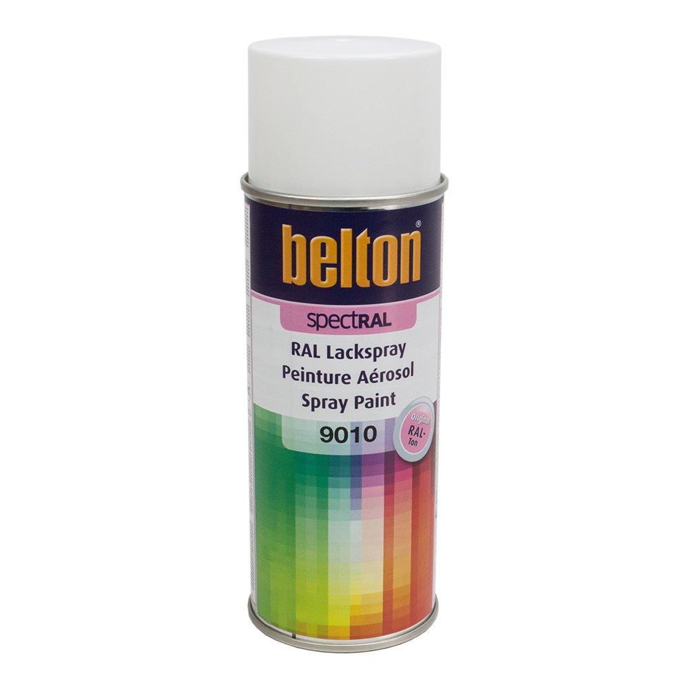 Belton Peinture Teinte RAL 9010 Blanc 400 ml
